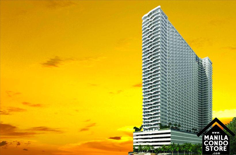 SMDC COAST Residences Roxas Boulevard Pasay Condo Building Facade