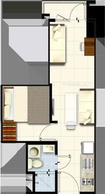 SMDC COAST Residences Roxas Boulevard Pasay Condo Family suite B with balcony