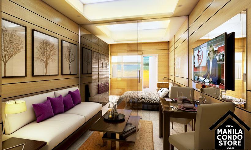 SMDC COAST Residences Roxas Boulevard Pasay Condo Model Unit