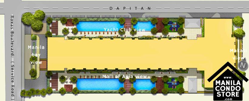 SMDC COAST Residences Roxas Boulevard Pasay Condo Site Development Plan