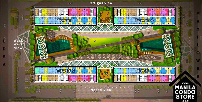 SMDC Fame Residences EDSA Shaw Mandaluyong Condo Site Development Plan