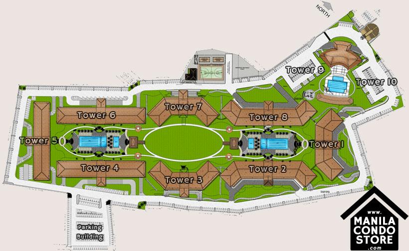 SMDC FIELD Residences Sucat Paranaque Condo Site Development Plan