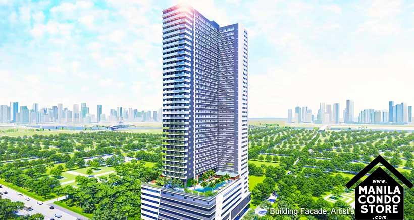 SMDC Gem Residences C5 Road Pasig City Condo Building Facade