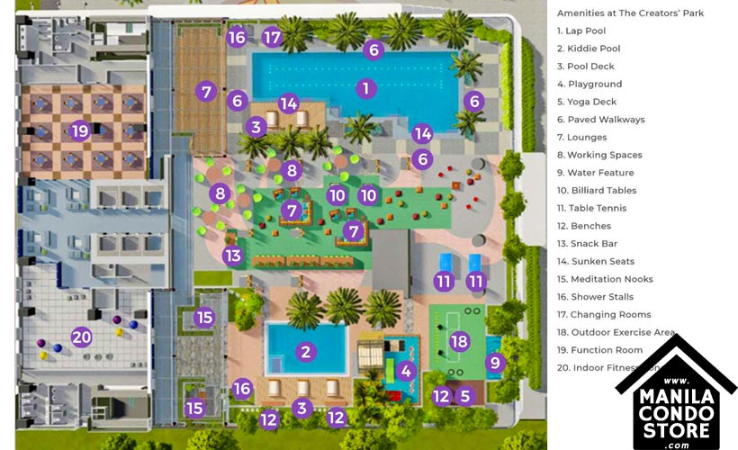 SMDC Gem Residences C5 Road Pasig City Condo Site Development Plan