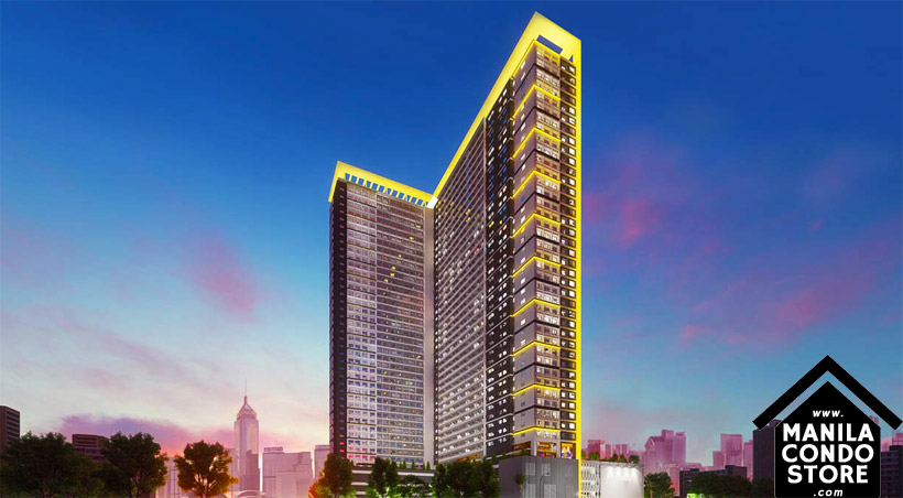 SMDC GLAM Residences EDSA South Triangle Quezon City Condo Building Facade