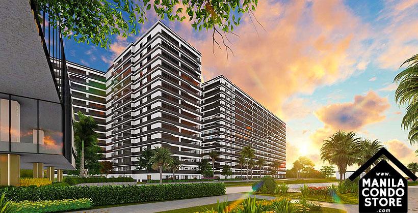 SMDC Gold Residences Sucat Paranaque Airport Condo Building Facade