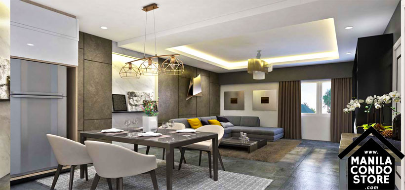 SMDC Gold Residences Sucat Paranaque Airport Condo Model Unit