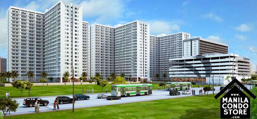 SMDC GRACE Residences Taguig Affordable Condo Building Facade