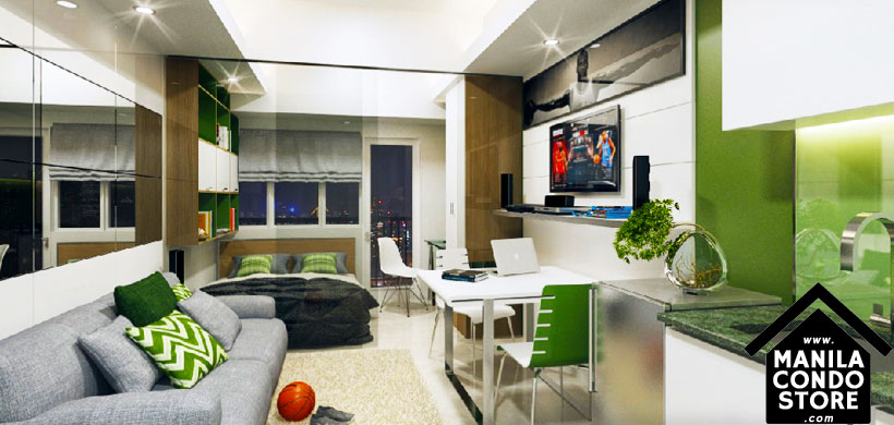 SMDC GREEN Residences De La Salle University Taft Manila Condo Model Unit