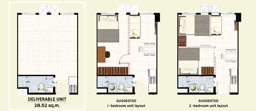 SMDC HILL Residences Novaliches Quezon City Condo Flexi Suite