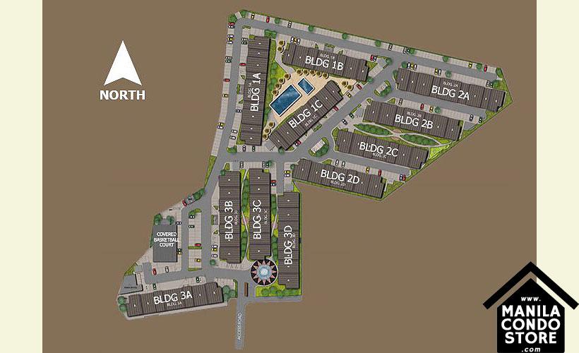 SMDC HILL Residences Novaliches Quezon City Condo Site Development Plan