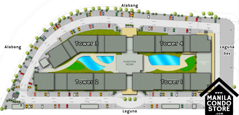 SMDC Leaf Residences Susana Heights Muntinlupa Condo Site Development Plan