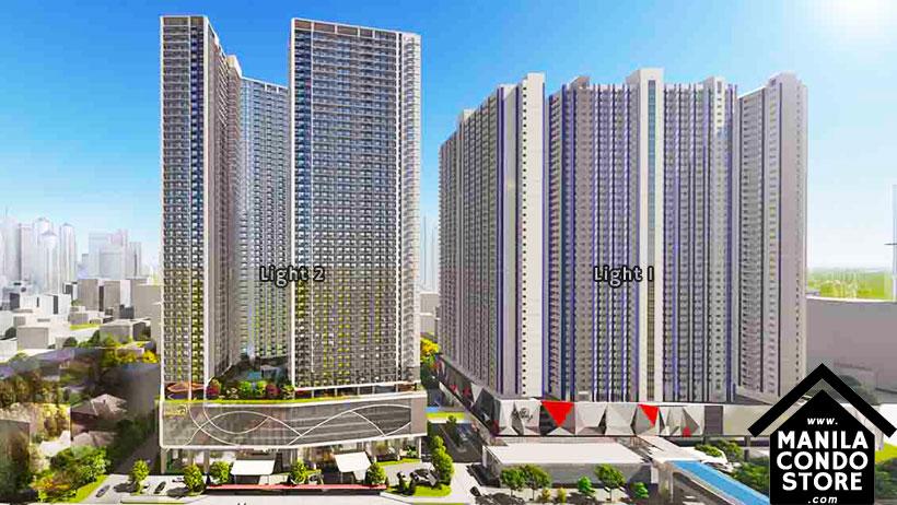 SMDC LIGHT 1 Residences MRT EDSA Boni Mandaluyong Condo Building Facade