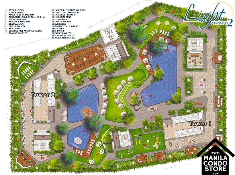 SMDC LIGHT 2 Residences MRT EDSA Boni Mandaluyong Condo Site Development Plan