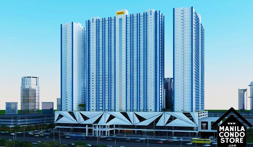 SMDC LIGHT Residences MRT EDSA Boni Mandaluyong Condo Building Facade
