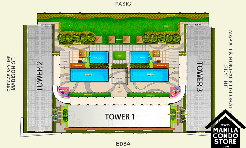 SMDC LIGHT Residences MRT EDSA Boni Mandaluyong Condo Site Development Plan