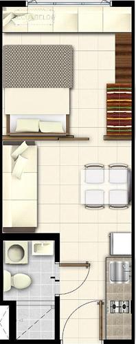 SMDC LUSH Residences San Antonio Makati Condo 1-bedroom unit