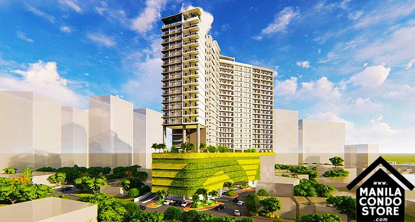 SMDC LUSH Residences San Antonio Makati Condo Building Facade