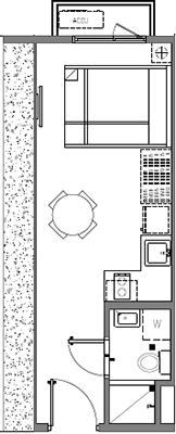 SMDC Mint Residences Chino Roces Bangkal Makati Condo Studio unit