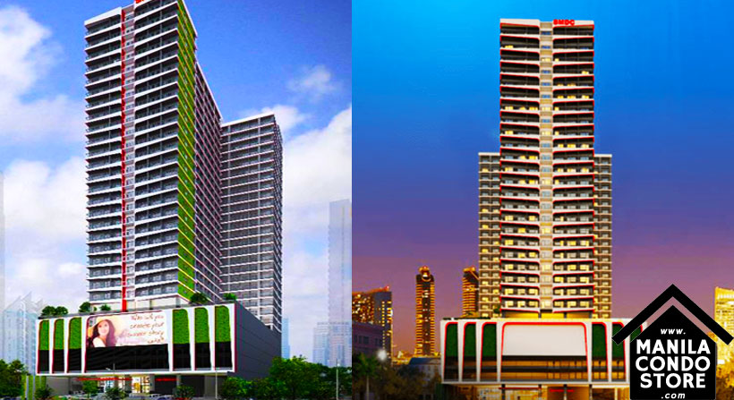 SMDC RED Residences Chino Roces Makati Condo Building Facade