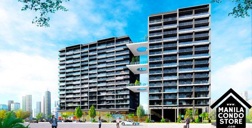 SMDC SAIL Residences Mall of Asia Condo Building Facade