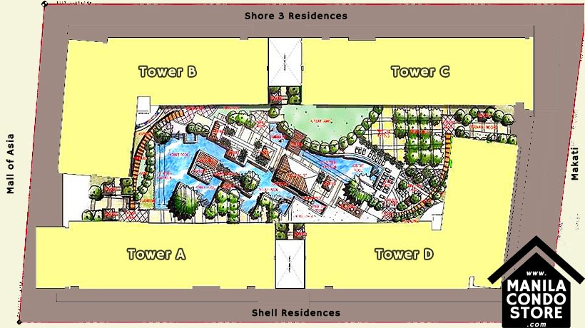 SMDC SAIL Residences Mall of Asia Condo Site Development Plan