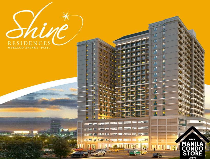 SMDC SHINE Residences Ortigas Pasig Condo Building Facade