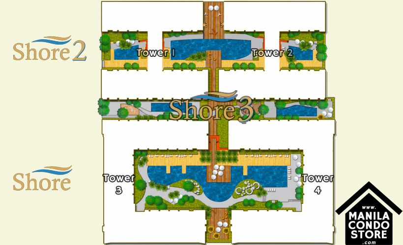 SMDC SHORE 3 Residences Mall of Asia Condo Site Development Plan