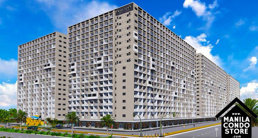 SMDC SHORE Residences Mall of Asia Condo Building Facade