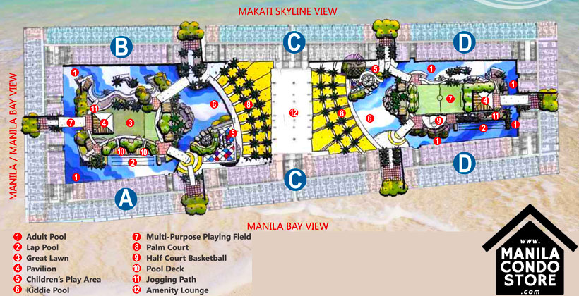 SMDC SHORE Residences Mall of Asia Condo Site Development Plan