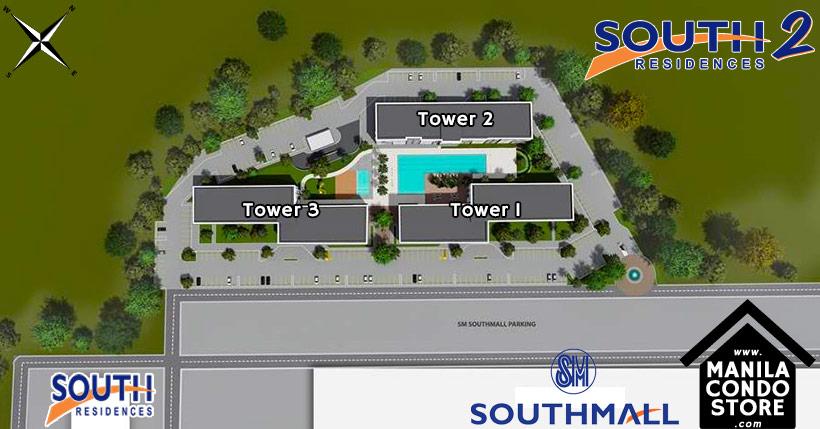 SMDC South 2 Residences Southmall Las Pinas Condo Site Development Plan