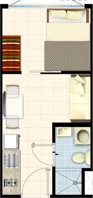 SMDC SOUTH Residences Southmall Las Pinas Condo 1-bedroom unit