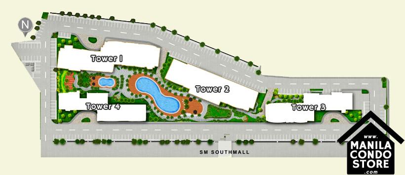 SMDC SOUTH Residences Southmall Las Pinas Condo Site Development Plan