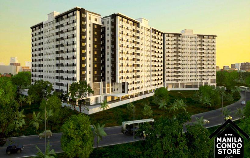 SMDC SPRING Residences Bicutan Paranaque Condo Building Facade