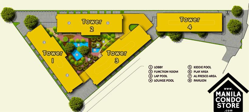 SMDC SPRING Residences Bicutan Paranaque Condo Site Development Plan