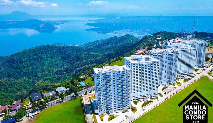 SMDC WIND Residences Taal Tagaytay City Condo Building Facade