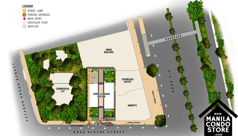Torre Lorenzo Loyola Heights Quezon City Condo Site Development Plan