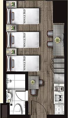 Torre Lorenzo Loyola Heights Quezon City Condo Studio unit A