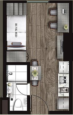 Torre Lorenzo Loyola Heights Quezon City Condo Studio unit B
