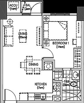 The Arton by Rockwell Katipunan QC Condo 1-bedroom unit