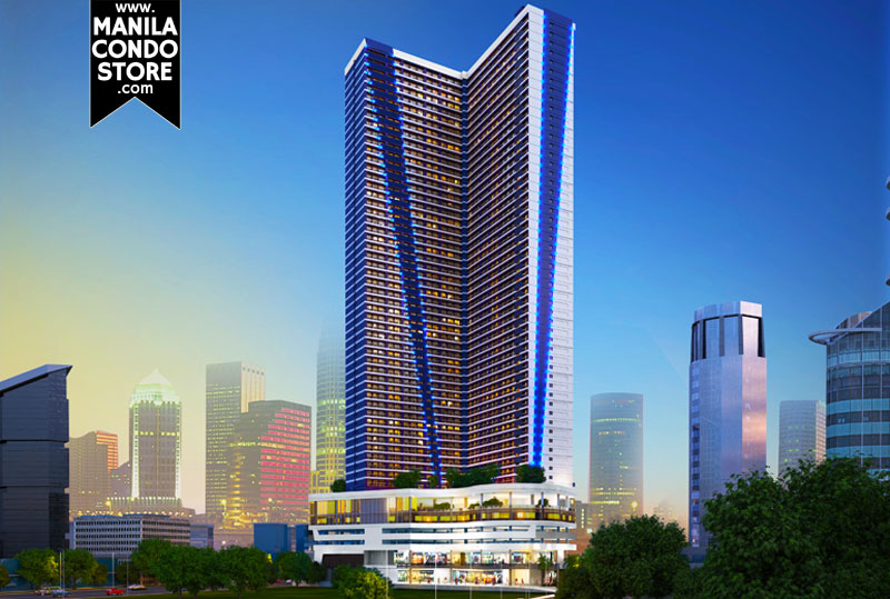 SMDC Air Residences Makati Condo Building Facade