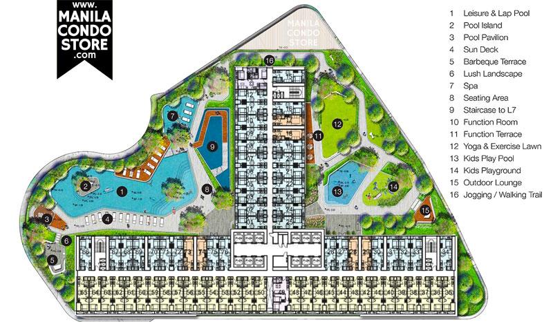 SMDC Air Residences Makati Condo Site Development Plan