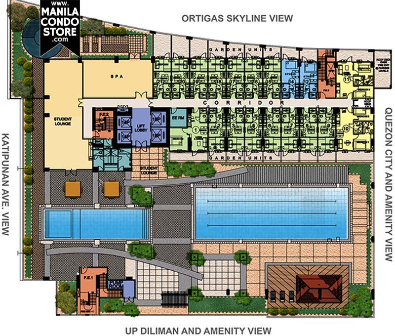 Berkeley Heights Apartments: SMDC Berkeley Residences Katipunan