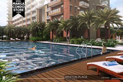DMCI Homes Brixton Place Kapitolyo Condo Lap Pool