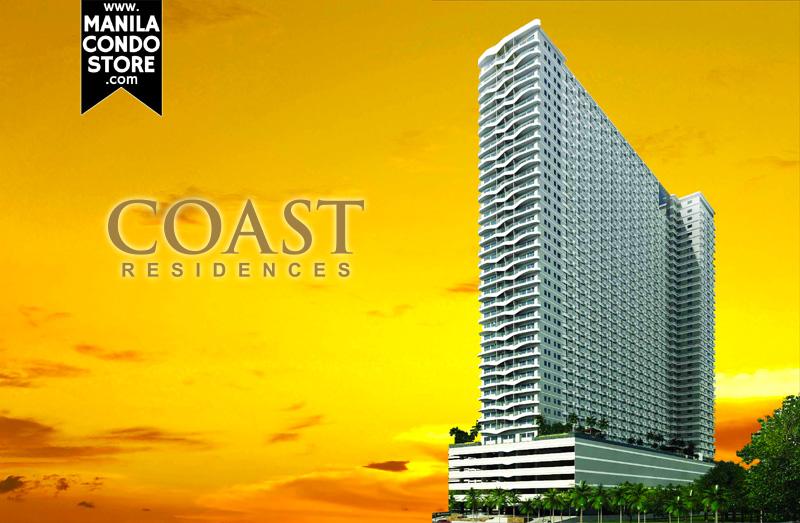 SMDC Coast Residences Pasay Condo Building Facade