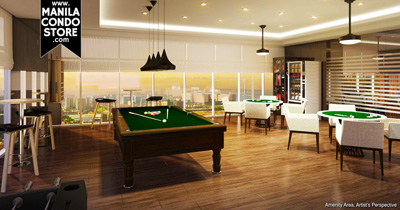 SMDC Coast Residences Pasay Condo Game room