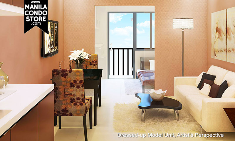 SMDC Grass Residences Quezon City Condo Model Unit