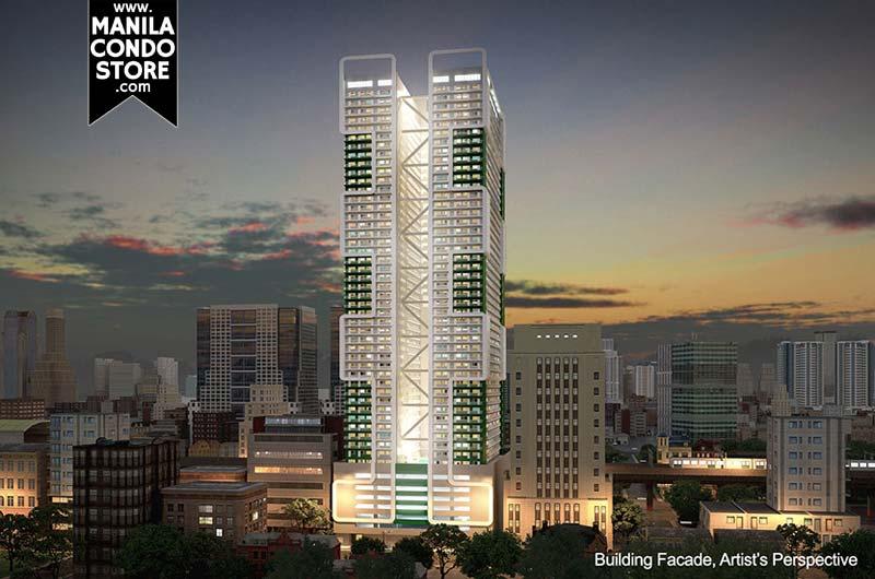 SMDC Green Residences Manila Condo Building facade