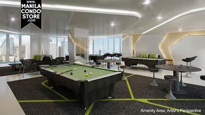 SMDC Green Residences Manila Condo Game Room