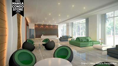 SMDC Green Residences Manila Condo Lobby